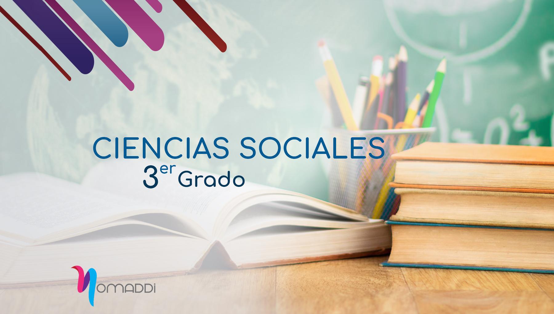 Sociales, Tercer Nivel de Educación Básica Primaria